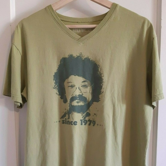 Ethica Tops - David Suzuki Size Large T-shirt Nature of Things